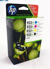 4 ORIGINAL HP 932XL 933XL MULTIPACK DRUCKER 6100 6600 6700 7110 7610 PATRONEN
