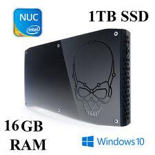 Skull Canyon NUC Mini PC / Core i7 6770HQ / 16GB DDR4 RAM / 1TB SSD / Win 10 PRO