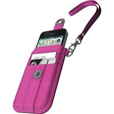 XtremeMac Phone & Credit Card Wristlet Case For iPhone 5/5S/5C/SE - Pink Denim