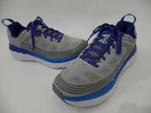Hoka One One Bondi 6 Vapor Gray Blue Running Shoes Men's Size 10.5  2E