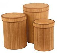 Panier à Linge Set 3tlg. bambou à corbeille à à à