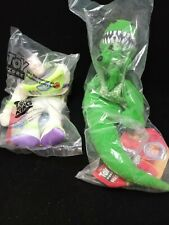 Burger King Toy Story Pals Buzzlight Year And Rex puppets