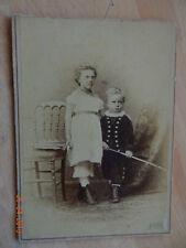 cabinet photo infant costume interest 1880