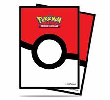 Ultra Pro - Standard Deck Protectors - Pokemon Pokeball Sleeves (65 Pack)