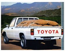 1986 Toyota HiLux Pickup Truck Factory Photo ca4097