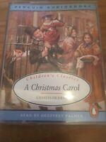 A CHRISTMAS CAROL CASSETTE TAPE CHARLES DICKENS - PENGUIN AUDIOBOOKS