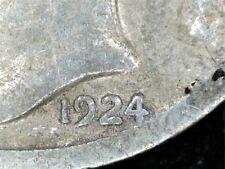 1924D Mercury Dime Double Die Date
