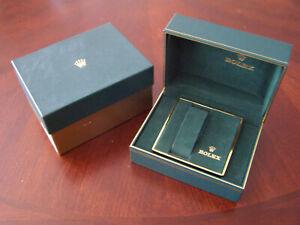 Vintage Mid to Late 80s Rolex Box Set Sub Sea Dweller GMT Daytona Explorer