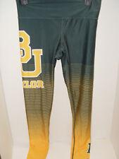 Baylor University Fringe Sublimated Women's Ladies NCAA Leggings Green Small