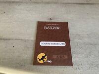 Passeport figurine Tintin n°87525. Tchang Tchong-Jen. Commune de Moulinsart.