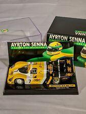 Ayrton Senna Collection No. 17, 1984 Porsche 956K, F1, 1:43 Minichamps