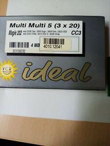 Merkur Spielpaket Multi 5 (3x20) mit Datenbank, Zulassung TR5.1.