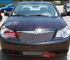 Fits 2007-2008 Chrysler Sebring Billet Main Upper Grille Insert