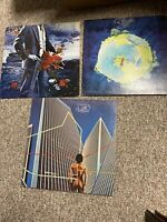 Lot of (3) YES -- LP records: FRAGILE;Tormato;Going For The One - VG+/EX