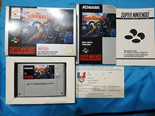 Super Castlevania IV 4 - version française PAL FAH - Super Nintendo SNES