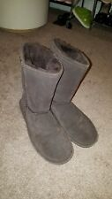bearpaw boots 10 brown color