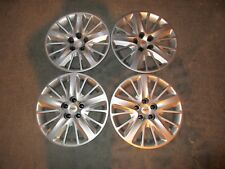 "Set of 4 New 2014 14 2015 15 Impala 18"" Hubcaps Wheel Covers Free Shipping 3299"