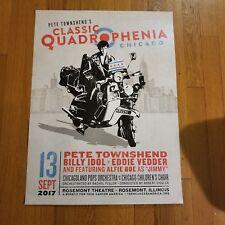 Quadrophenia Chicago 2017, Pete Townsend, Eddie Vedder, Billy Idol
