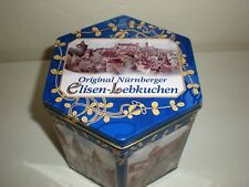 "Elisen Lebkuchen Holiday Tin ""Nürnberg Historic Points of Interest"" Germany 5"""