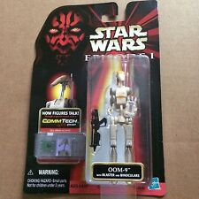 Star Wars Episode 1 - OOM-9 with Blaster and Binoculars - Action Figure