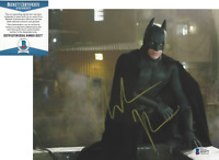 CHRISTIAN BALE SIGNED 'THE DARK KNIGHT RISES BATMAN' 8x10 PHOTO BECKETT COA BAS