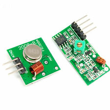 433Mhz MX Wireless Transmitter and Receiver Module for Arduino