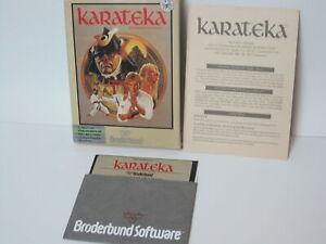Vintage ATARI Software Game KARATEKA Broderbund