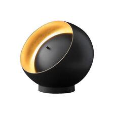 OLUCE lampada da tavolo EVA in metallo oro e nero design by Francesca Borelli