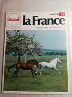 N11 Découvrir La France Larousse N°10 avril 1972 la Normandie, paradis du fromag