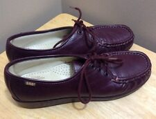 SAS Oxford Leather Loafers Womens Shoes Size 10 N