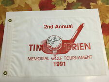 RARE Payne Stewart Autograph Golf Flag PSA/DNA *LOA* *COA* Hand Signed Auto