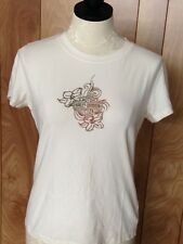 WOMEN'S HARLEY-DAVIDSON BEJEWELED SHORT SLEEVE SHIRT-SIZE: LARGE