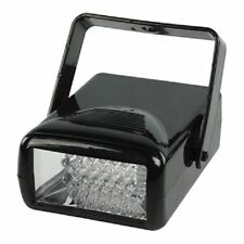 NEW ADJUSTABLE FLASHING STROBE DISCO LIGHT WITH INTEGRAL FIXING/HANGING BRACKET