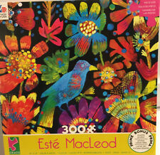 Tropical Bird ceaco puzzle Este Macleod  300 Pc 19x19 New Sealed