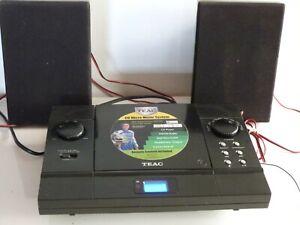 TEAC MCD25 RADIO & CD Micro Music System. Fully working