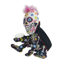 Horror Gothic Skull Soft Plush Doll Zombie Dolls Coin Box Halloween Decor