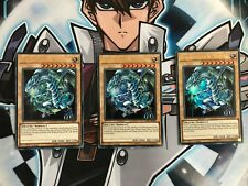 Yu-Gi-Oh! 3x Blauäugiger w. Drache (Version 4) LCKC-DE001 Ultra Rare Playset