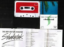 SHAKATAK The Very Best of JAPAN CASSETTE TAPE 28CM0670 w/SLIP CASE+INSERT FreeSH