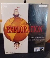 Exploration pc game NEW BIGBOX sealed 1995 DOS RARE
