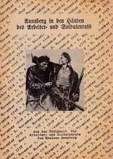 Annaberg-Buchholz in Händen des Arbeiter- und Soldatenrats, 2. überarb.Auflage