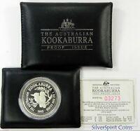 1993 KOOKABURRA PROOF SILVER Coin in Wallet