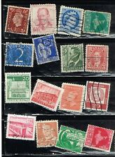 (15-377) 64 Assorted Cancelled  International  Postage sTamps