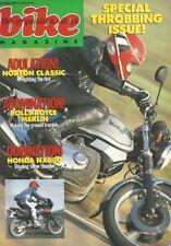 Norton Classic Honda CX500 Harley Davidson Heritage Softail Bimota YB4 NX650 NX