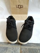 Original /WOMAN'S UGG UGGS treadlite trainers size 7 or eu 40.5. Black colour.