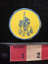 Small, Simple Knight On A Horse Patch C756