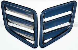Max style ABS plastic bonnet vents universal Ford, Vauxhall, focus, corsa,fiesta