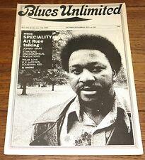 BLUES UNLIMITED MAGAZINE NO 104 1973 JOHNNY MARS WILLIE LOVE LOUISIANA RED