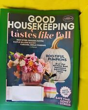 GOOD HOUSEKEEPING MAGAZINE October 2018 Dbl TASTES LIKE FALL Jamie Lee Curtis