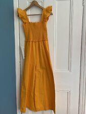 ASOS Yellow cotton Summer Jumpsuit 12 New