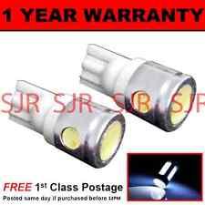 W5W T10 501 XENO BIANCO 3 SMD LED LUCI DI POSIZIONE LAMPADINE LATERALI X2 HID